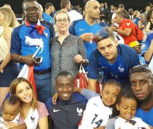 Blaise Matuidi entouré de sa petite amie Ludivine et de ses proches sur Instagram