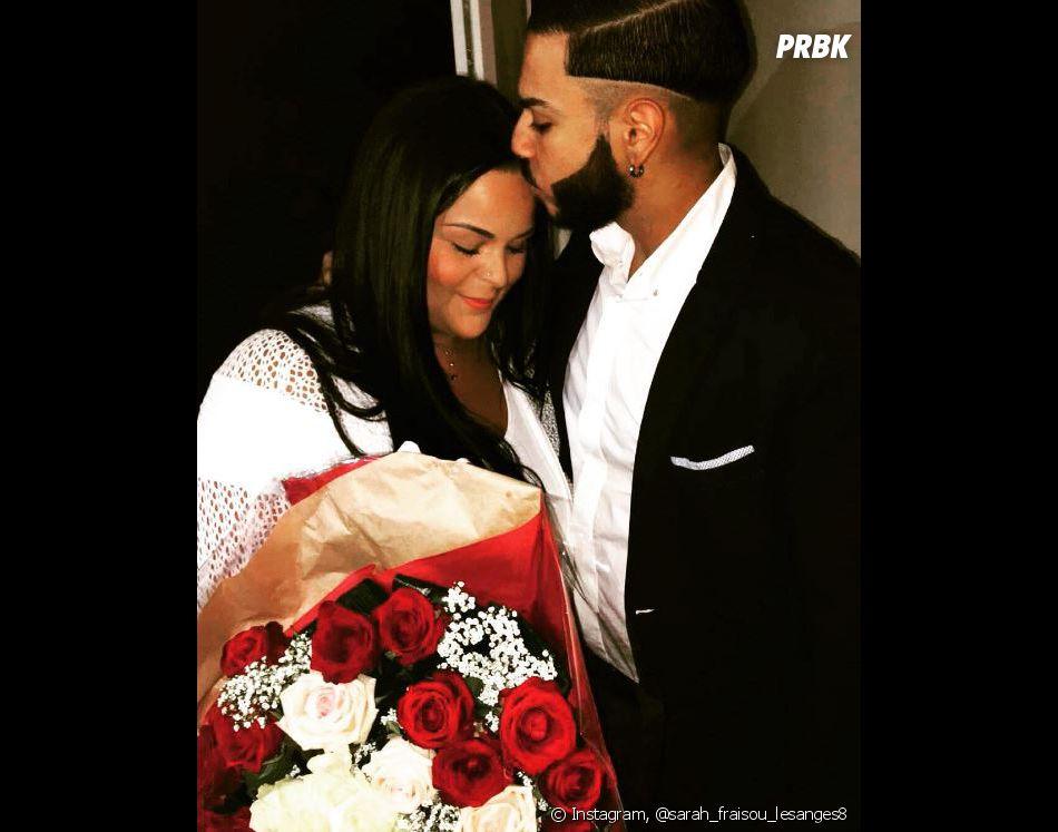 Sarah Fraisou des Anges 8 et Malik se sont fiancés ce vendredi 8 juillet 2016