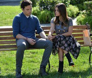 Pretty Little Liars saison 7 : Aria et Ezra bientôt fiancés ?