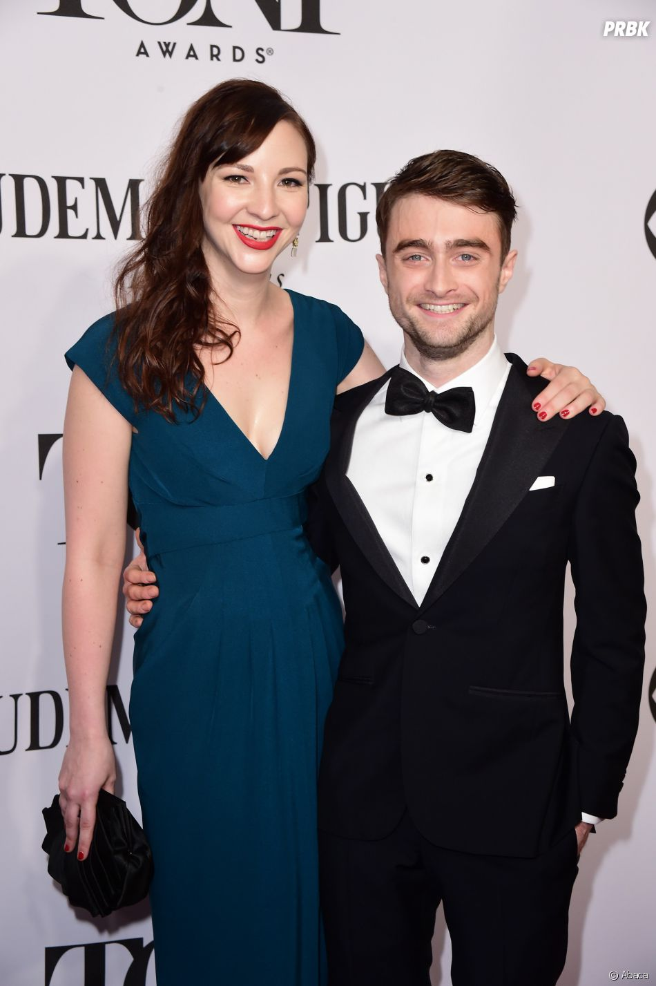 Daniel Radcliffe (Harry Potter) et Erin Darke : premier tapis rouge pour le couple en 2014 aux Tony Awards
