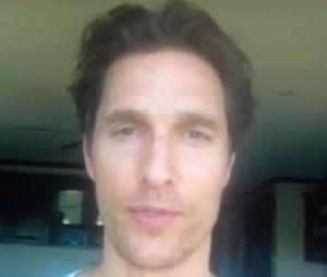Matthew McConaughey : sa chaîne YouTube et un échec... jusqu'à ce qu'un internaute s'en mêle !