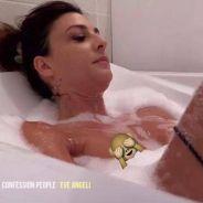 Eve Angeli nue dans son bain : alerte canicule dans Confessions Intimes !