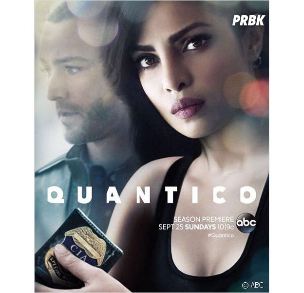 Quantico saison 2 : l'affiche avec Pryanka Chopra et Jake McLaughlin