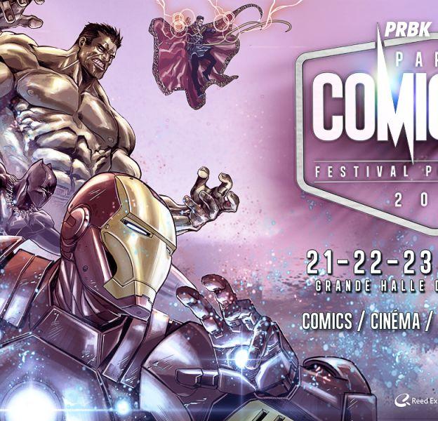 Comic Con 2016 de Paris : le programme