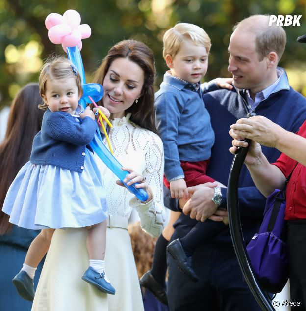 Le Prince George et la Princesse Charlotte au Canada avec le Prince William et Kate Middleton le 30 septembre 2016
