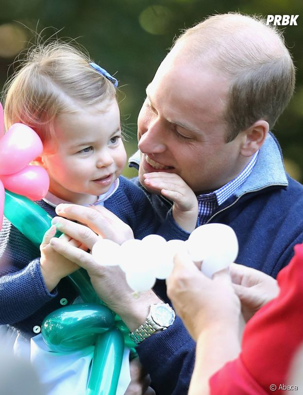 Le Prince William et la Princesse Charlotte au Canada le 30 septembre 2016