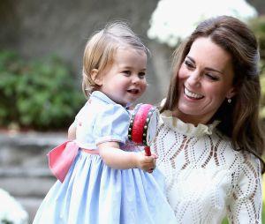 Kate Middleton et sa fille la Princesse Charlotte au Canada le 30 septembre 2016