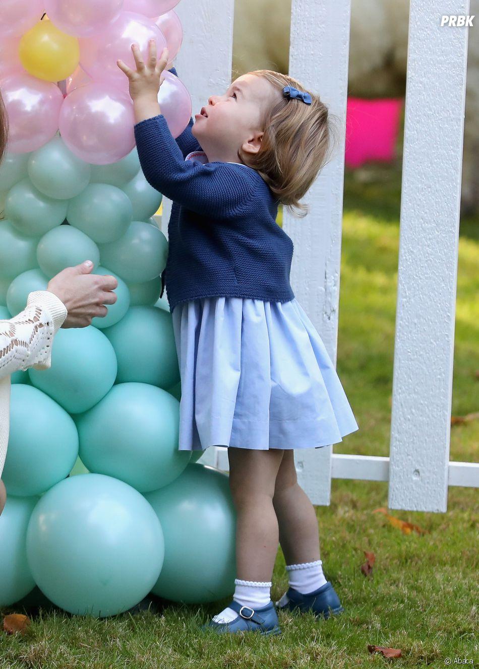 La Princesse Charlotte au Canada le 30 septembre 2016