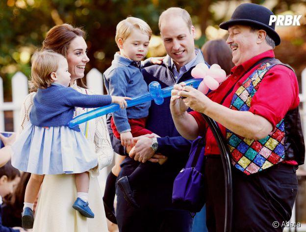 Le Prince George et la Princesse Charlotte au Canada le 30 septembre 2016