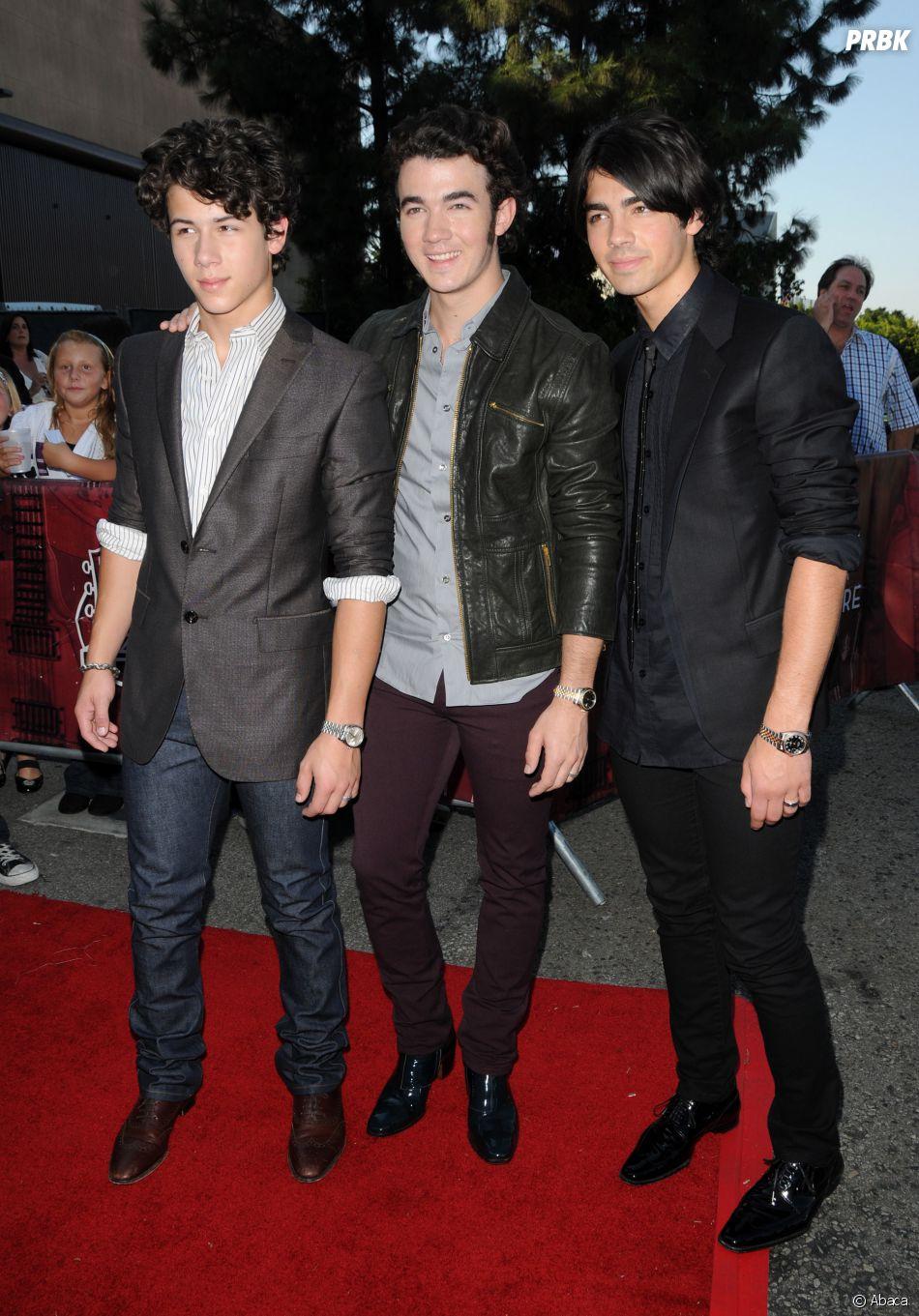 Joe Jonas, Nick Jonas et Kevin Jonas : les trois Jonas Brothers portaient un anneau de pureté.