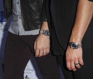 Les anneaux de pureté des Jonas Brothers : les trois frères chanteurs devaient ainsi rester chastes jusqu'au mariage.