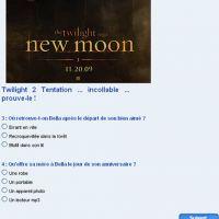 Twilight 2 Tentation es-tu un vrai fan ?