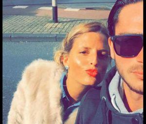 Allison (La Revanche des ex) et Dorian à Amsterdam, il y a quelques mois