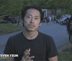 The Walking Dead saison 7 : message de Steven Yeun