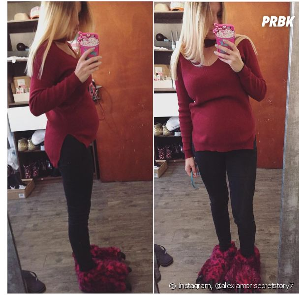 Alexia Mori (Secret Story 7) enceinte : elle dévoile le sexe de son bébé