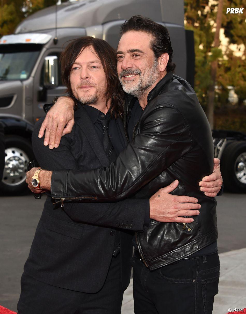The Walking Dead saison 7 :   Jeffrey Dean Morgan (Negan) est très ami avec Norman Reedus (Daryl) !