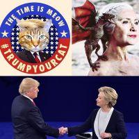Elections américaines : les meilleurs détournements sur Hillary Clinton et Donald Trump