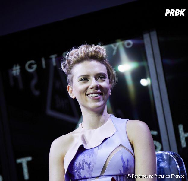 Scarlett Johansson présente Ghost in the Shell à Tokyo le 13 novembre 2016