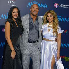 Dwayne Johnson : The Rock pose avec sa fille... aussi baraque que lui !
