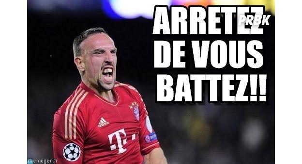 Franck Ribéry : arrêtez de vous battez