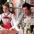 Cory Monteith dans la série Glee.