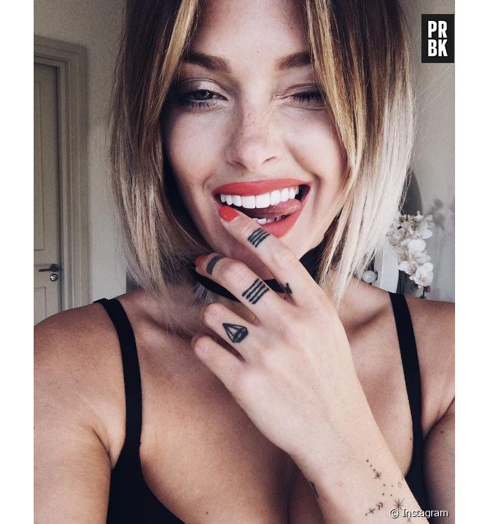 Caroline Receveur Un Nouveau Tatouage Lie A Un Coup De Foudre
