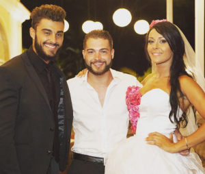 Quentin Garcia au mariage de Thibault Kuro et Shanna Kress