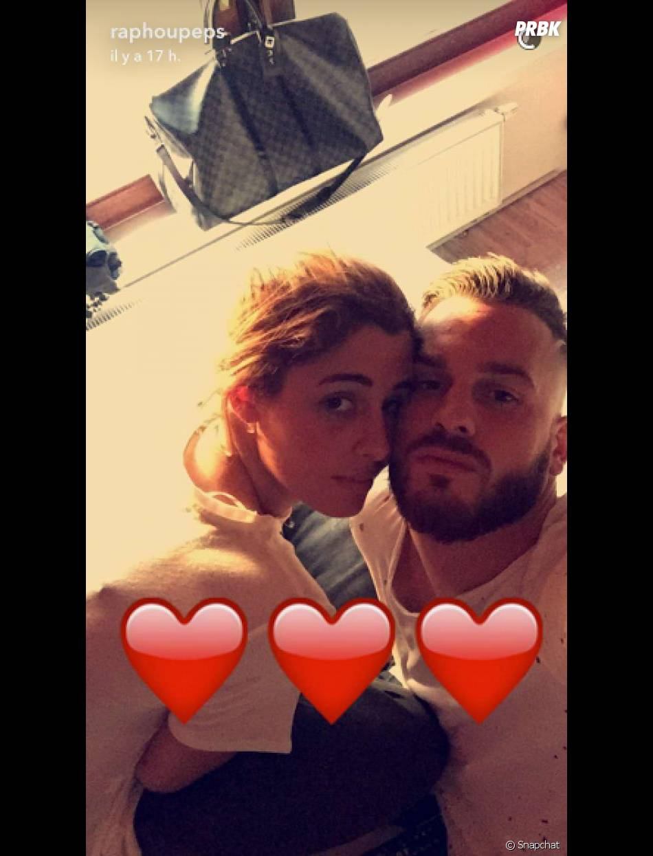 Coralie porrovecchio et rapha l de nouveau en couple ils - Raphael de casabianca en couple ...