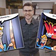 Cyprien dévoile Nope Quiz, son propre jeu vidéo sur mobile