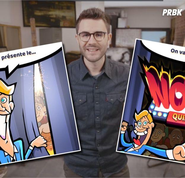 Cyprien lance Nope Quiz, son propre jeu vidéo sur mobile
