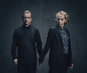 Sherlock : Martin Freeman (Watson) et Amanda Abbington (Mary) sont séparés