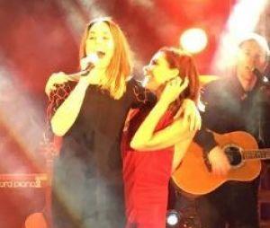 """Les Spice Girls : Victoria Beckham et Mel C ont chanté """"2 become 1"""" pour la nouvelle année."""