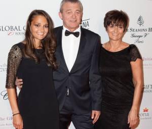 Grégory Lemarchal : ses parents Laurence et Pierre Lemarchal et sa soeur Leslie au Global Gift Gala 2013