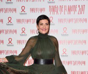 Cristina Cordula : sa robe Jean-Paul Gaultier transparente affole leDîner de la mode contre le sida 2017
