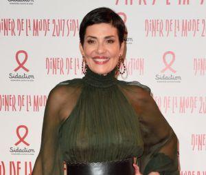 Cristina Cordula ultra sexy auDîner de la mode contre le sida 2017