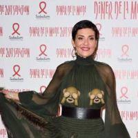 Cristina Cordula dévoile ses seins : oups, sa robe transparente dévoile tout !