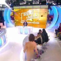 Cyril Hanouna chez les nudistes : un homme entièrement nu débarque dans son émission