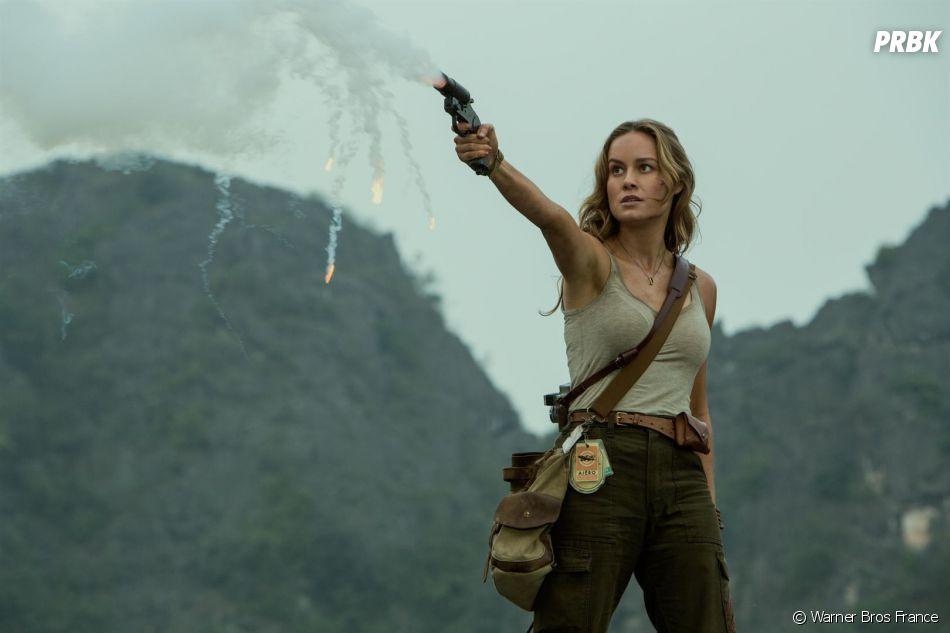 Kong Skull Island : Brie Larson sur une photo