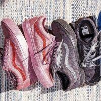 Vans x The OC : des sneakers glitter qui en mettent plein la vue