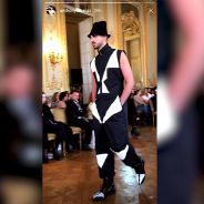 Anthony Alcaraz (Les Anges 9) défile à la Fashion Week de Paris de manière imprévue