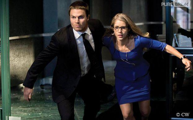 Arrow saison 5 : le couple Oliver/Felicity bientôt de retour ?