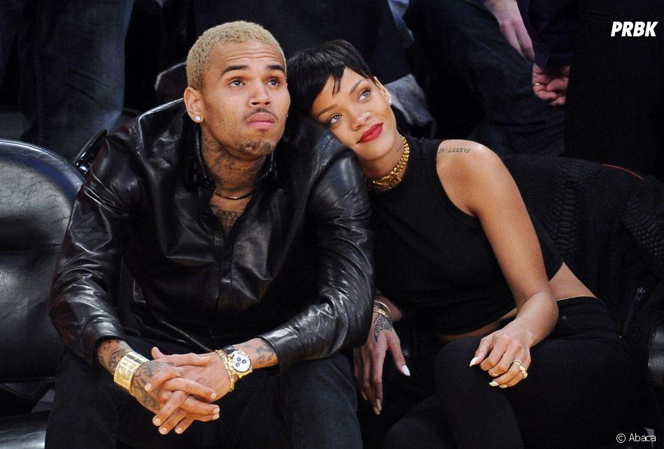 7c538e70b5a82d Rihanna et Chris Brown en couple   Les deux ex s enverraient des ...