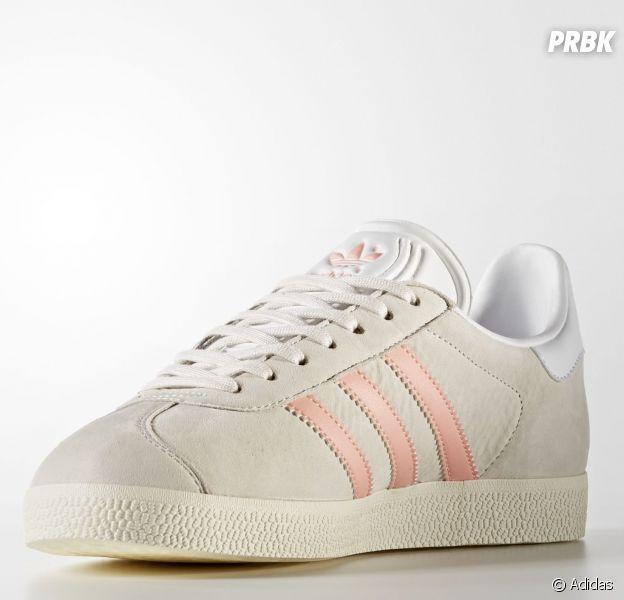 Adidas sort une nouvelle paire de Gazelle aux bandes roses pour le printemps !