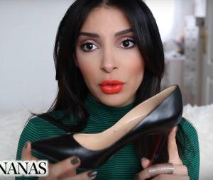 Sananas dévoile les produits de luxe qu'elle a dans son dressing.