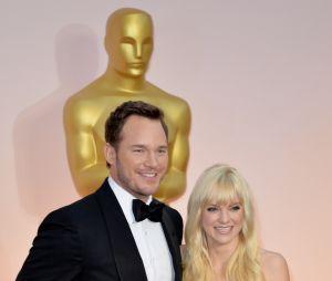 Chris Pratt et Anna Faris très amoureux aux Oscars 2017