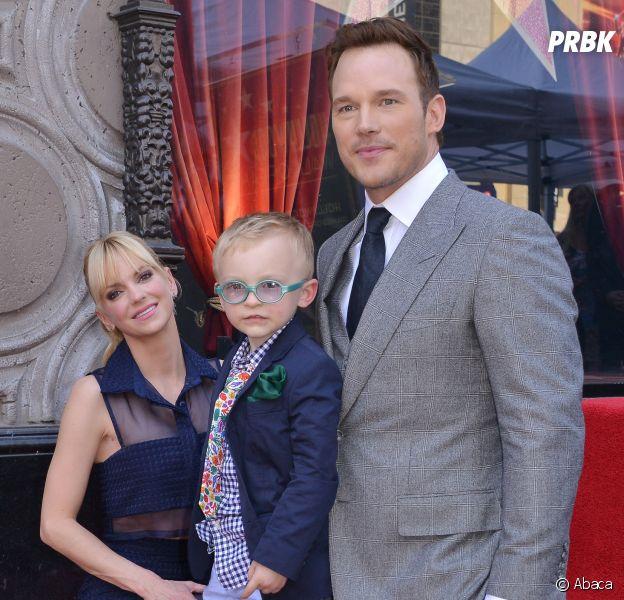 Chris Pratt, Anna Faris et leur fils Jack : une famille trop chou