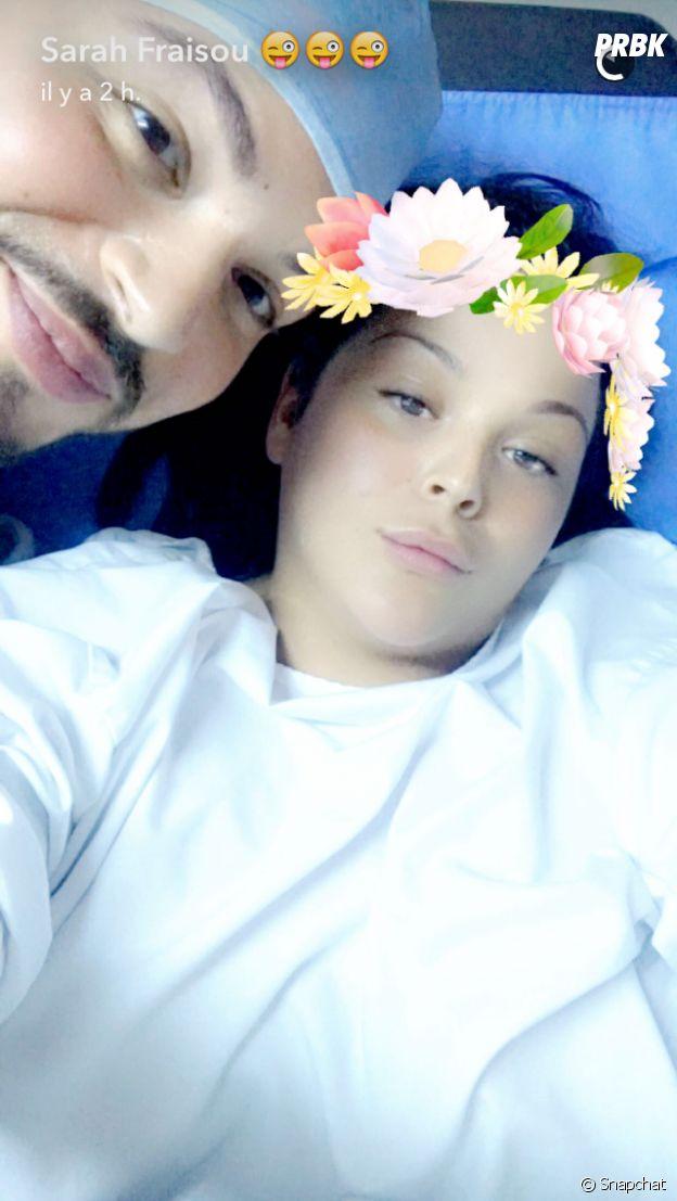 Sarah Fraisou filme (encore) sa nouvelle opération de chirurgie esthétique sur Snapchat !