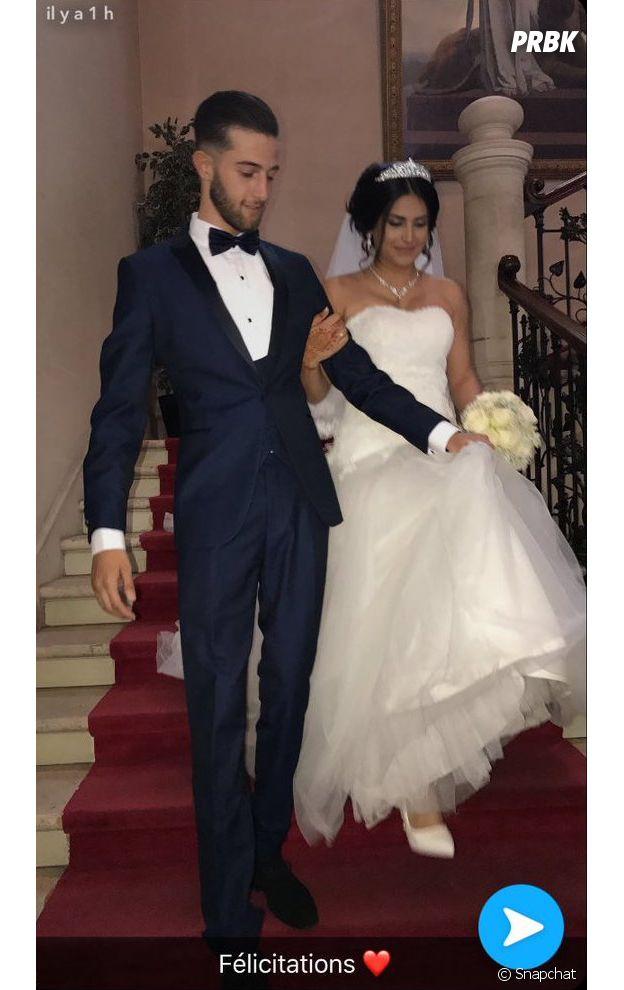 Tarek Benattia en compagnie de sa femme