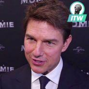 Tom Cruise nous parle en français à l'avant-première de La Momie à Paris