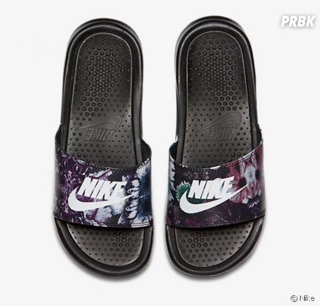 La claquette Nike.